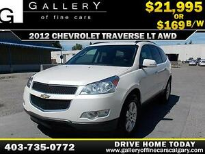 2012 Chevrolet Traverse LT AWD $169 BIWEEKLY APPLY NOW DRIVE NOW
