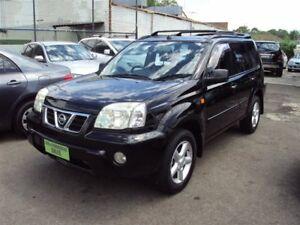 2003 Nissan X-Trail T30 TI-L (Sunroof) (4x4) Black 4 Speed Automatic Wagon