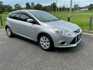 2014 Ford Focus LW MK2 MY14 Ambiente Silver 6 Speed Automatic Hatchback West Gosford Gosford Area Preview