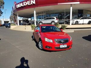 2012 Holden Cruze JH Series II MY12 CD Red 5 Speed Manual Sedan Melton Melton Area Preview