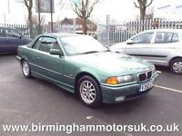 2000 (V Reg) BMW 318i CABRIOLET 2DR Convertible GREEN