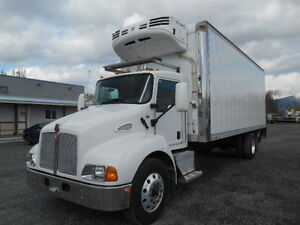 2008 Kenworth T300 S/A Reefer Van