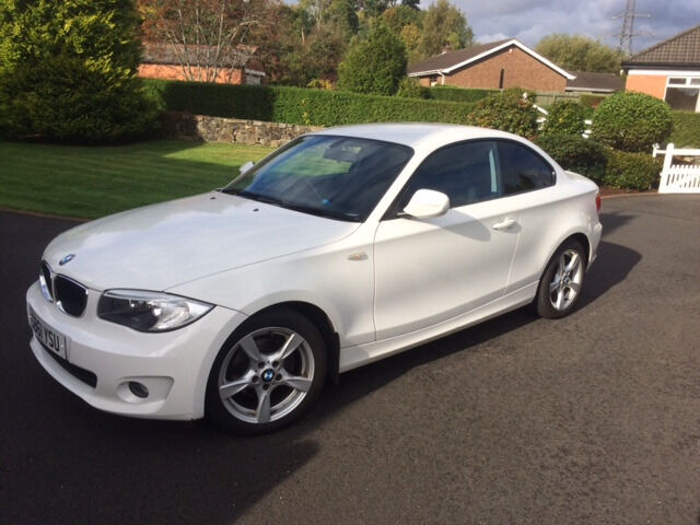 White BMW 1 Series Coupe 2012 - Perfect Condition. | in Moira ...