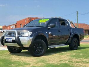 2013 Mitsubishi Triton MN MY13 GL-R Utility Double Cab 4dr Spts Auto 4sp 4x4 970kg 2.5DT Wangara Wanneroo Area Preview