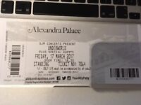 1 x Ticket for Underworld. Alexandra Palace. London. 17.03.17. Face Value