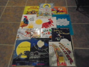 LOT OF PRIMARY CHILDREN'S BOOKS-Includes Eric Carle
