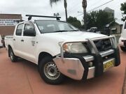 2008 Toyota Hilux TGN16R MY08 Workmate White 5 Speed Manual 4D Utility Richmond Hawkesbury Area Preview