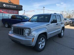 2011 Jeep Liberty Limited 4x4, Leather, Remote Start, Uconnect