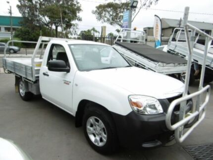 2010 Mazda BT-50 09 Upgrade Boss B2500 DX White 5 Speed Manual Cab Chassis Bankstown Bankstown Area Preview