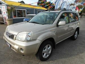 2004 Nissan X-Trail T30 TI (4x4) Gold 4 Speed Automatic Wagon Maidstone Maribyrnong Area Preview