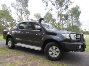 2009 Toyota Hilux KUN26R MY09 SR5 Grey 5 Speed Manual Utility Dandenong Greater Dandenong Preview