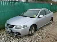 HONDA ACCORD 2.2 CDTI 2005 BREAKING FOR SPARES TEL 07814971951 HAVE FEW IN STOCK