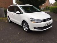 2014 VOLKSWAGEN SHARAN 2.0 SEL TDI 5D 142 BHP DIESEL, £17499 OR FLEXIBLE FINANCE