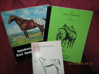Canadian and U.S. Appaloosa Stud Books