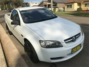 2009 Holden Commodore VE MY10 Omega White 4 Speed Automatic Utility Chester Hill Bankstown Area Preview