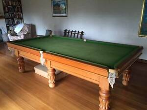 Heiron & Smith 9 x 4'6 Billard table, price dropped $2,150 Seville Yarra Ranges Preview