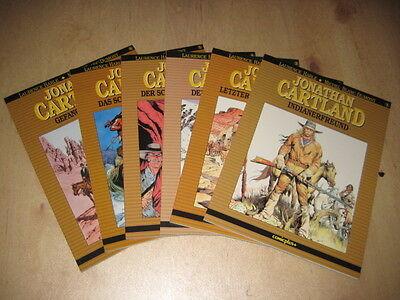 Jonathan Cartland Band 1-6 Komplett - Verlagsvergriffen