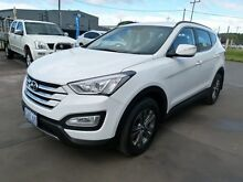 2013 Hyundai Santa Fe DM Active CRDi (4x4) Creamy White 6 Speed Manual Wagon Welshpool Canning Area Preview