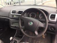 2009 Skoda Fabia 1,9 litre diesel 5dr