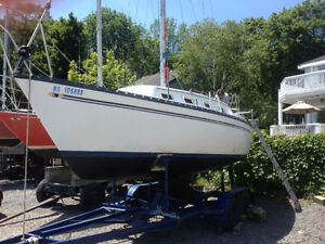 Hunter 25 Sailboat