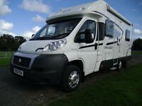 2013 SWIFT ESCAPE 664 MOTORHOME+MOTORCYCLE/SCOOTER RACK
