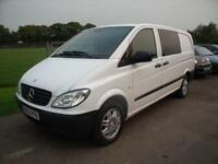 MERCEDES VITO 111 CDI LONG LWB, White, Manual, Diesel, 2010