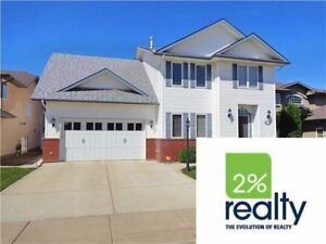 Impeccable-Granite-2 Double Garages-Listed By 2% Realty