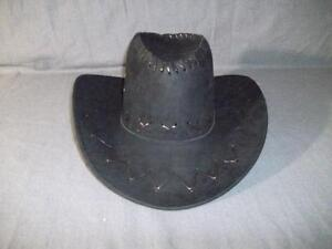 Brand New Black or Khaki Cowboy Hat (Man Made Material)