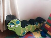 Large caterpillar for soft play