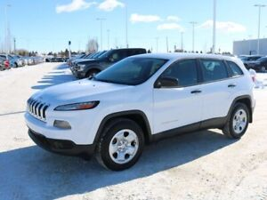 2016 Jeep Cherokee SPORT, 2.4L, 4WD, UCONNECT, HEATED FRONT SEAT