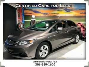 2013 Honda Civic LX Sedan | LOADED | AUTOMATIC | HEATED SEATS