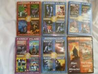 Mixed 14 Film DVD Bundle,region 2; 20.00 pounds