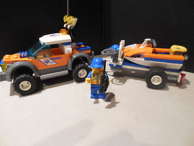 LEGO CITY EMERGENCY RESCUE COAST GUARD 7737 SET