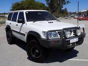 2002 Nissan Patrol GU III MY2002 DX White 5 Speed Manual Wagon Maddington Gosnells Area Preview