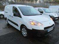Peugeot Partner L2 716 S 1.6 Hdi 92PS Crew Van DIESEL MANUAL WHITE (2014)