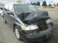 HONDA ODYSSEY (1999/2004/ PARTS PARTS ONLY)