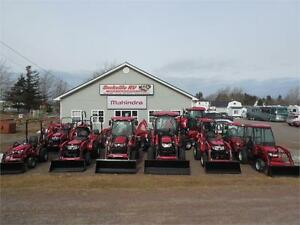 Sackville RV, your new Mahindra tractor dealer