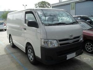 2013 Toyota Hiace TRH201R MY12 Upgrade LWB White Solid 4 Speed Automatic Van Moorabbin Kingston Area Preview