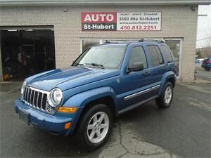 JEEP LIBERTY LIMITED 4X4 2006 ** AUCUNE ROUILLE **