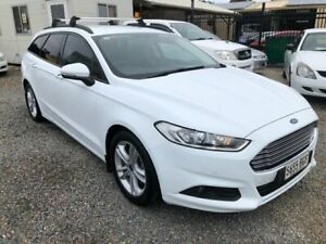 2015 Ford Mondeo MD Ambiente TDCi White 6 Speed Automatic Wagon Park Holme Marion Area Preview