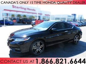 2017 Honda Accord COUPE V6 TOURING | TINT | 1 OWNER