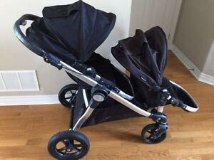 City Select Double Stroller - Onyx