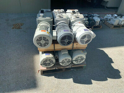 Leybold Trivac D60a Baldor 3 Phase Vacuum Pumps Used Sold Individually