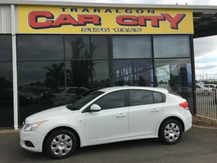 2012 Holden Cruze JH MY12 CD White 6 Speed Automatic Hatchback Traralgon Latrobe Valley Preview