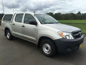 2007 Toyota Hilux TGN16R 06 Upgrade Workmate Gold 5 Speed Manual Dual Cab Pick-up Revesby Bankstown Area Preview