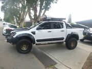 2012 Ford Ranger PX XL Double Cab White 6 Speed Manual Cab Chassis Merrylands Parramatta Area Preview
