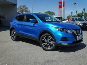 2019 Nissan Qashqai J11 Series 2 ST-L X-tronic Blue 1 Speed Constant Variable Wagon Morley Bayswater Area Preview