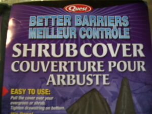 Two Shrub/Evergreen Covers - 4' X 2.5' - New in packages