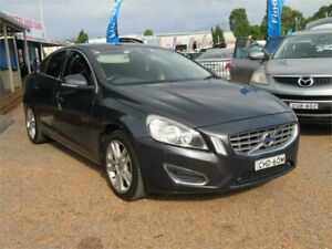 2011 Volvo S60 F Series MY12 T4 PwrShift Grey 6 Speed Sports Automatic Dual Clutch Sedan Minchinbury Blacktown Area Preview