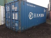 20ft x 8ft shipping container